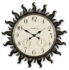HOWARD MILLER 22.5' INDOOR/OUTDOOR WALL CLOCK 625-543 SUNBURST