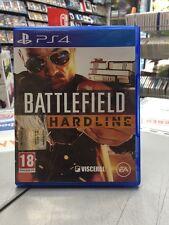 Battlefield Hardline Ita PS4 USATO GARANTITO