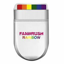 Rainbow Fan Brush Face & Body Paint Gay Lesbian Pride Flag Can Be Used 100+Times
