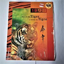 YEAR OF THE TIGER - 1998 -  CANADA, CHINA & HONG KONG LUNAR PACK -  MNH