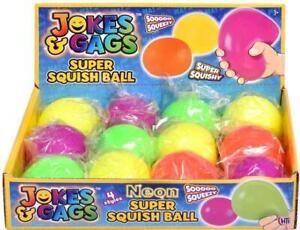 Jokes & Gags Squidgy Squish Mesh Ball Stress Relief Sensory Fidget Toy 6cm