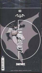 BATMAN FORTNITE ZERO POINT #1 / COVER D PREMIUM VARIANT WITH CODE IN BAG