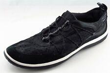 Clarks Privo  Fashion Sneakers Black Fabric Women10Medium (B, M)