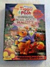 Disney Tigger And Pooh Matching Card Game Hundred Acre Wood Haunt Sealed