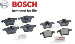 Details about  /For 2003-2014 Volvo XC90 Brake Pad Set Rear Bosch 66978CX 2004 2005 2006 2007