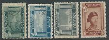 1946 CORPO POLACCO USATO 4 VALORI - U23-5