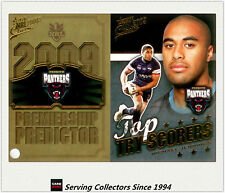 2009 NRL Classic Predictor + Top Tryscorer Card TT11 Michael Jennings (Panthers)