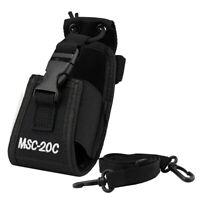 MSC-20C Nylon Universal Bag Holster Case For Motorola Yaesu IBT TYT Baofeng K1U4