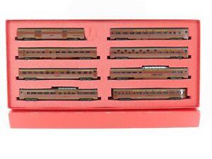 HO Scale Con-Cor 0001-008001 NW Norfolk & Western 8 Passenger Car Set