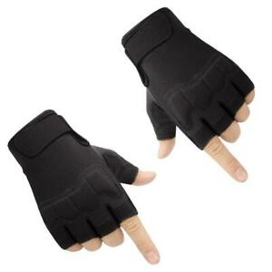 Tactical Gloves Military Cut Proof Fingerless Gloves Anti-slip Outdoor Sports