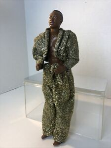"""MC HAMMER Doll in Gold Outfit 1991 12"""" Doll #1089 Mattel"""
