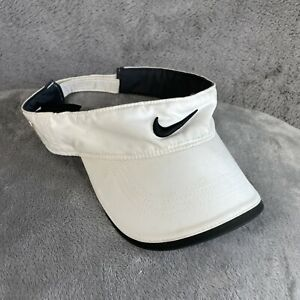Nike Visor Adjustable Cap Hat White Tennis Golf VRS RZN