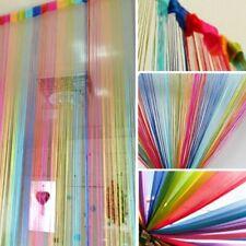 String Door Curtain Beads Hanging Wall Panel Dividers Doorway Room Home Decor