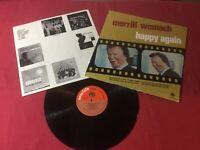 Merrill Womach – Happy Again  Label:New Life Records, Vinyl VG+ Copy