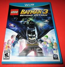 LEGO Batman 3: Beyond Gotham Nintendo Wii U *Factory Sealed! *Free Shipping!