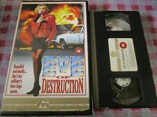 Eve Of Destruction - Big box ex-rental VHS video
