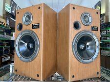 TECHNICS SB-CR33 Speakers Vintage 2 Way 140Watts  100% Working PERFECT Good Look