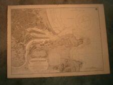 Vintage Admiralty Chart 1446 SCOTLAND - ABERDEEN HARBOUR 1922 edn