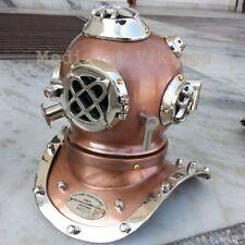 Vintage Diving Helmet Mini Scuba Brass Antique Style Divers Helmet Nautical Gift