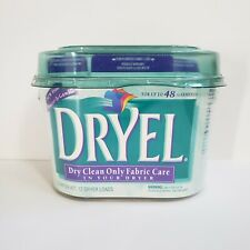 Dryel Starter Kit with Bag + 12 Cloths Dry Clean NEW 12 loads up to 48 Garments