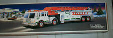 2000 Hess Fire Truck N Ladder Head & Tail Lights Ladders Flashers Sirens Horn