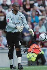 Willy Gueret Hand Signed 12x8 Photo - MK Dons - Football Autograph.