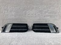 AUDI A1 RS1 2010-2014 FRONT BUMPER LOWER GRILL RS STYLE PAIR [A1FOG-1]