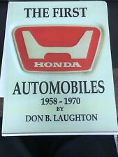 The First Honda Automobiles