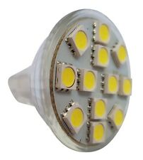 Caravan MR11 12 SMD LED 12V (10-30V DC) 200LM 2.4W White Bulb (~25W)