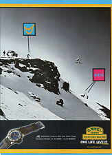 CIAK999-PUBBLICITA'/ADVERTISING-1999- CAMEL TROPHY ADVENTURE WATCHES (vers.B)