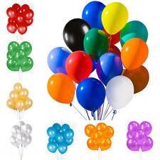 "50/100PCs Assorted Latex Balloons Bulk 12""  For Birthday Wedding Party Decor"