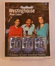 Vintage Westinghouse Flash Cubes Photographic Flashbulbs x 12