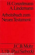 LIBRO DE TRABAJO a la Nuevos TESTAMENT - H. CONZELMANN/(a). LINDEMANN tb (1975)