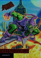 Ultra Spider-Man Rainbow Foil Achievement Exclusive Card Legacy L4 Green Goblin