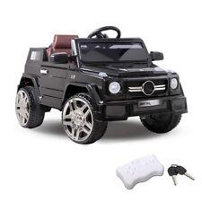 Kids Electric Ride on Car Licensed Mercedes Benz G50 AMG 12v Battery Toy Black