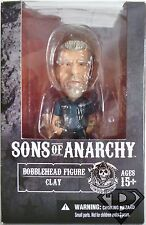 "Clay Morrow Sons of Anarchy 6"" inch Bobble Head Figure Mezco 2014"