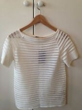 Zara Classic Neckline Casual Tops & Blouses for Women
