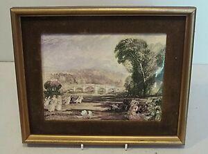 Coalport Porcelain Plaque - Richmond Hill  - J.M.W.Turner
