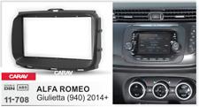 CARAV 11-708 2Din Marco Adaptador Kit de Radio para ALFA ROMEO Giulietta (940)