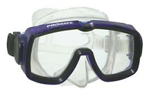 Promate Eagle Scuba Diving Snorkeling Single Lens Silicone Mask (Made in Usa)