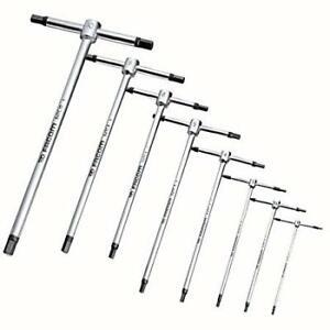 Facom Tools 8 Piece T- Handle Hex Allen Key Set - Speed Set - 2mm > 10mm