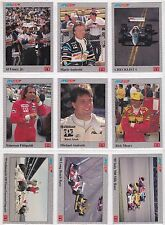 1991 CART PPG INDY CAR WORLD SERIES COMPLETE 100 CARD SET  FREE SHIPPING IN USA