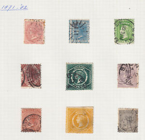 Range of 40 + NSW stamps, all scanned