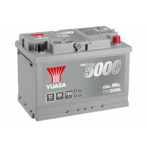 Batterie Yuasa Silver YBX5096 12v 80ah 760A Hautes performances