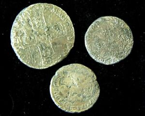 HALFCROWN  and 2 SHILLINGS William III 1696/7- ASSOCIATION Shipwreck 1707
