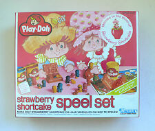Vintage Kenner Play-Doh STRAWBERRY SHORTCAKE Play Set MISB 1980's