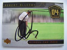 ROBERT ALLENBY signed 2004 Upper Deck golf card AUTO Autographed AUSTRALIA UD 89