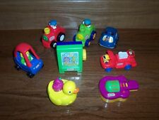 Little Tikes Dollhouse Size Easel Cozy Coupe Lot of 8 Used