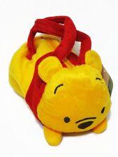Winnie the Pooh Cylinder Plush Handbag Women Girl's Purse Bag Disney
