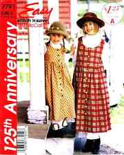 Reduced!! McCall's 7791 Girls' Jumper & Petticoat Pattern 2-6